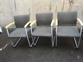 All office reception chairs @ just £10 each going quick!!
