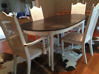 Shabby Sheek Table and Chairs