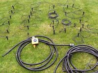 Irrigation system with timer