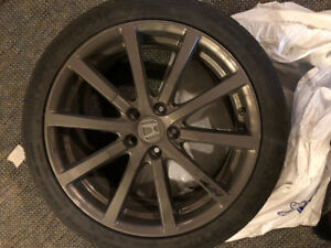 Honda HFP Rims and Rubber (x4(