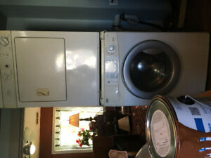 Parts- stacked washer and dryer- free