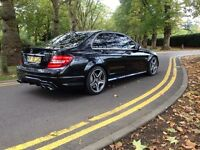 2009 MERCEDES C63 AMG FULLY LOADED LOGIC 7 DECATTED 480+ BHP PART EXCHANGE WELCOME
