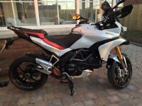 DUCATI MULTISTRADA 1200 S 2012 IN GLEAMING WHITE