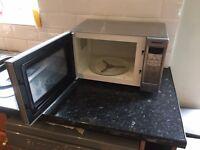 Panasonic stainless steel microwave