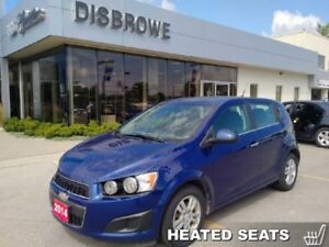 2014 Chevrolet Sonic LT  - Certified - Bluetooth