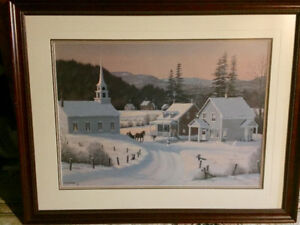 """Bill Saunders Framed Limited Edition Print """"Bearing Gifts"""""""