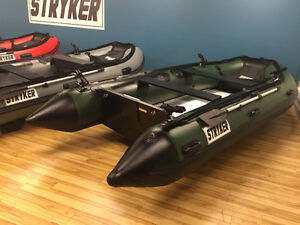 Stryker Inflatable Boat - ThermoWeld Tech on sale NOW