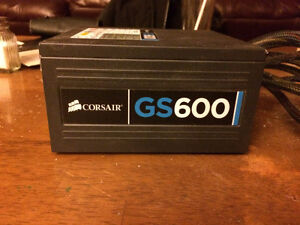 Desktop Power Supply - Corsair GS600