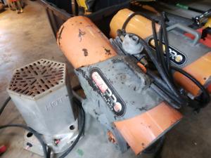 3 Propane Construction Heaters