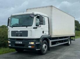 MAN TGM 18 240 4 X 2 Box Van
