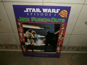 STAR WARS JEDI PUNCH OUT BOOK