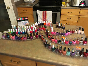 BRAND NEW SEALED Assorted Nail Polishes with Nail Dryer