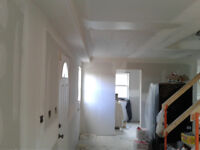 Reasonable rates on Drywall and Taping
