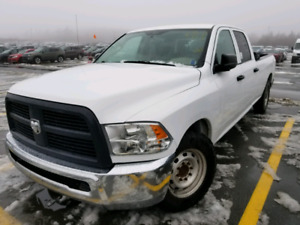 2012 Ram 2500 HD FWD .LOW MILEAGE. Reduced.