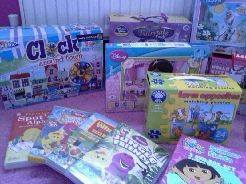 Toddlers Jigsaw and dvd bundle