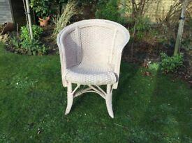 Lloyd Loom type Wicker Chair NEW PRICE