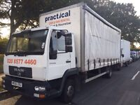 MAN LE 8-150 06 PLATE CURTAIN SIDE MANUAL EXCELLENT RUNNER £3150