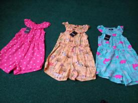 Baby girls jumpsuit bundle