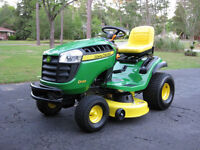Lawn Mowing/Maintenance Services Offered