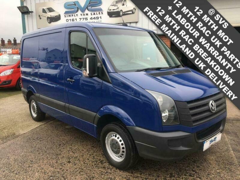 91b9c27627 2014 64 VOLKSWAGEN CRAFTER CR30 SWB LOW ROOF AIR CON IDEAL CAMPER   WORKSHOP