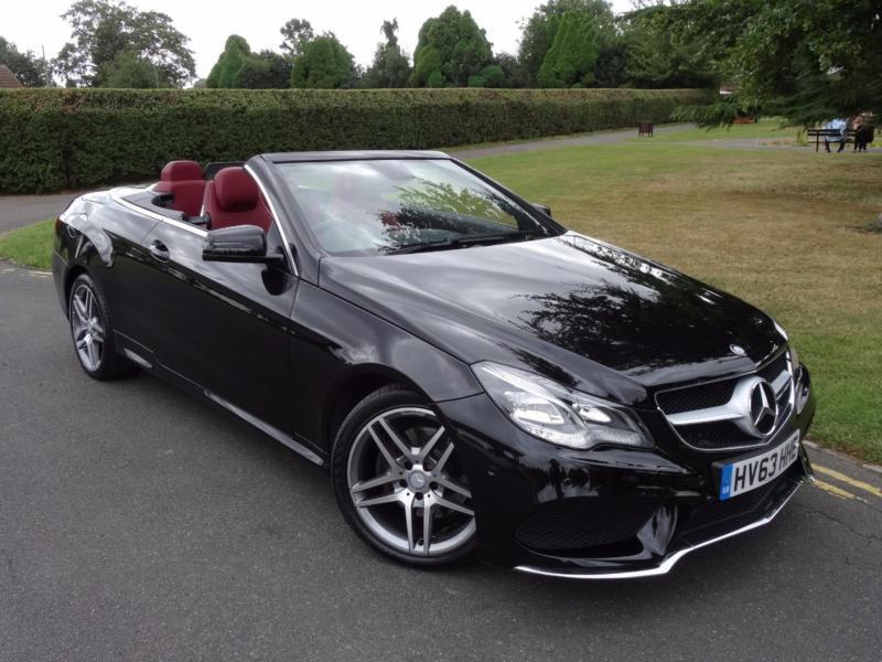 Mercedes e class e350 bluetec amg sport convertible 2013 for 2013 mercedes benz e350 cabriolet