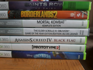 Xbox games and console(controller included)