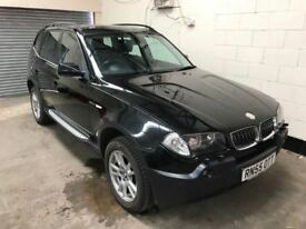 2006 BMW X3 3.0 D Auto 220bhp *Leather* Cruise, Air Con, Side Steps, 12 Month mot, 3 Month Warranty