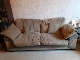 3/4 seater sofa - delivery available