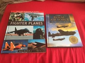 Two books on planes