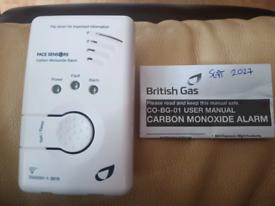 British gas carbon monoxide alarm.. New
