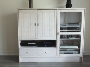 Entertainment Unit and Two Matching Bookcases
