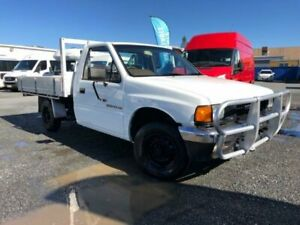 1989 Holden Rodeo TF DLX White 5 Speed Manual Cab Chassis Currumbin Waters Gold Coast South Preview