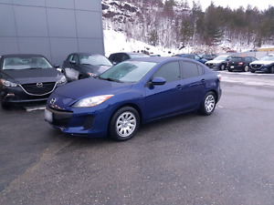 2012 Mazda3 GX with upgrade package