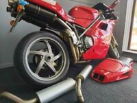 DUCATI 996S 2002 (51) LOW MILEAGE TERMIGNONI PLUS EXTRAS