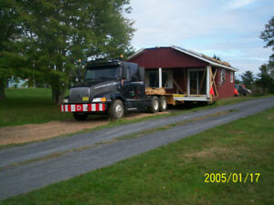 Transporting Mobile Home, Mini Homes and Cottages