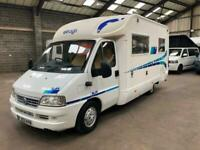 NOW SOLD DUCATO OTHER ELNAGH SLIM 4 BERTH MOTORHOME WITH REAR FRENCH BED