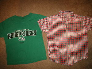 Boys Size 4 Short Sleeve Shirts
