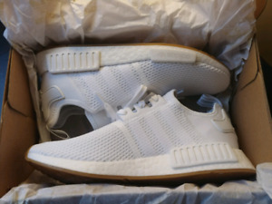 Adidas NMD Triple White Gum Pack Size 11