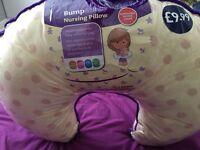 Nursing or baby pillow