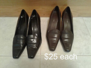 WOMENS SIZE 11 SHOES, $15-$40