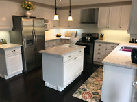 Refacing kitchen cabinet from  $1200 to $4000