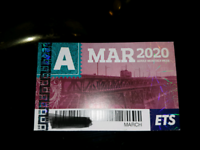 March Adult Ets Bus Pass