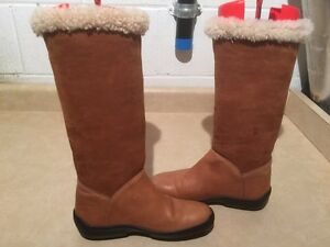 Women's Ralph Lauren Leather Winter Boots Size 6.5 London Ontario image 5
