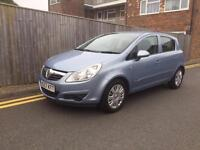 Vauxhall Corsa 1.4 i 16v Club 5dr F.S.H 1 LADY OWNER FROM NEW 2008 97K
