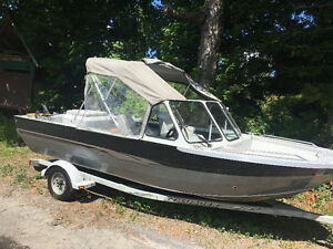 Jet boat Harbercraft 1875 for sale
