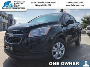 2015 Chevrolet Trax LS  ONE OWNER, ACCIDENT FREE!