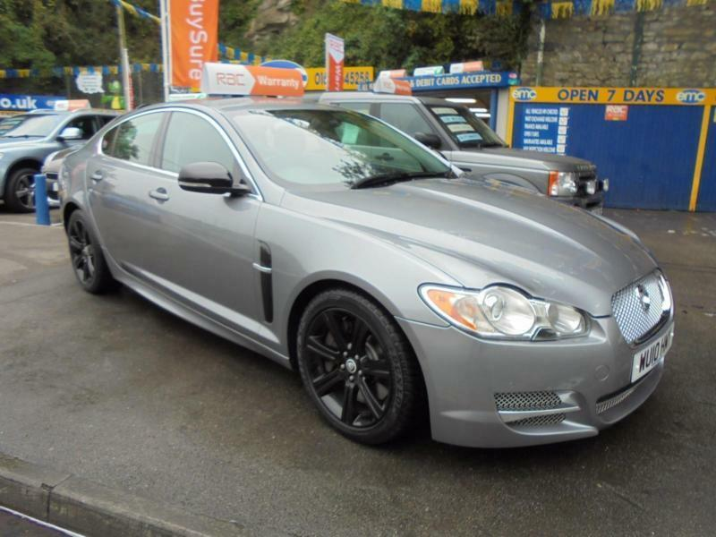 2010 10 jaguar xf 3 0 v6 diesel luxury auto in grey r sport styling in bridgend gumtree. Black Bedroom Furniture Sets. Home Design Ideas