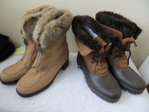 VARIOUS SOREL BOOTS - ORIGINALS MADE IN CANADA