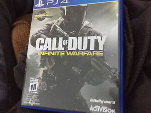 Brand new call of duty infinite warfare for PS4