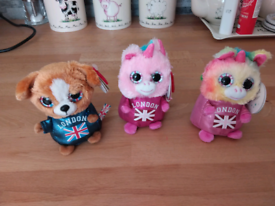 3 MINI MOTSU TOYS FROM LONDON